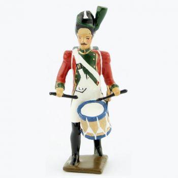 tambour (d'ordonnance) du 1er régiment de la Garde de Paris (1803-1809)