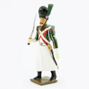 sapeur du 1er régiment de la Garde de Paris (1803-1809) avec scie