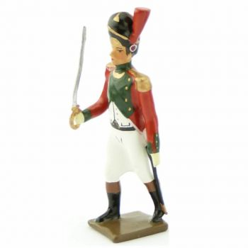 officier du 2e régiment de la Garde de Paris (1803-1809)