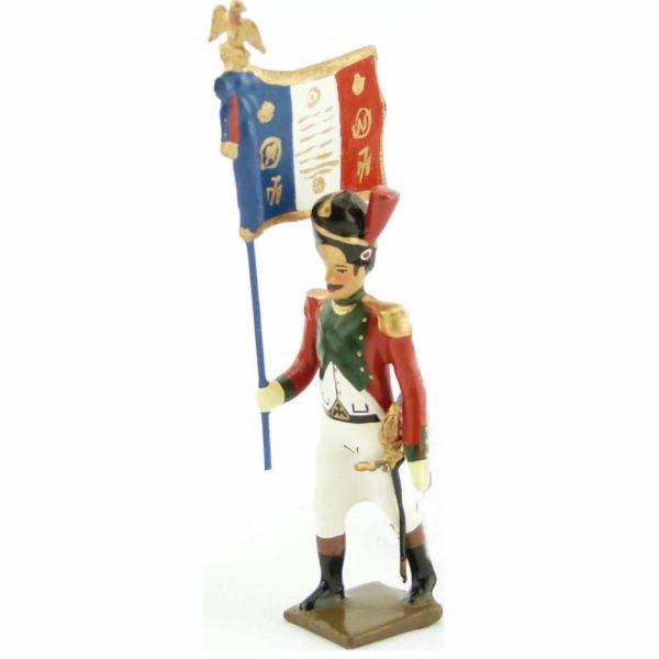 drapeau du 2e régiment de la Garde de Paris (1803-1809)