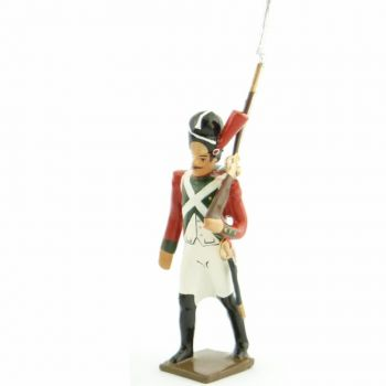fantassin du 2e régiment de la Garde de Paris (1803-1809)