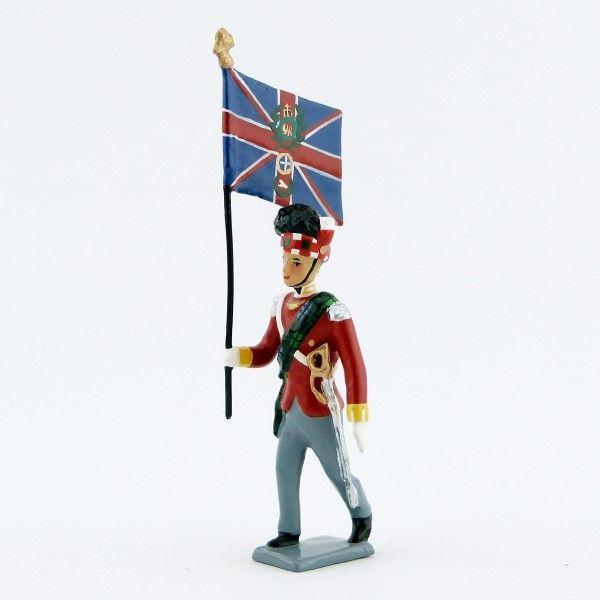 drapeau du 42e rgt de Highlanders, ''Black Watch''
