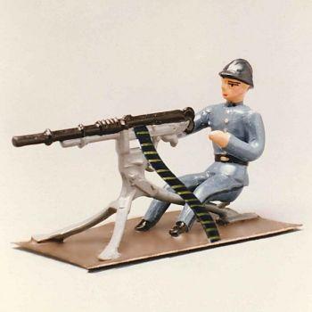 mitrailleur et mitrailleuse hotchkiss