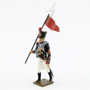 2e porte-aigle des tirailleurs-grenadiers (1809-1813)
