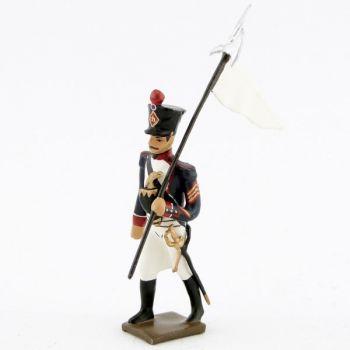 3e porte-aigle des tirailleurs-grenadiers (1809-1813)