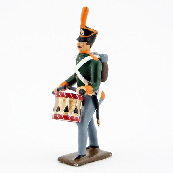tambour (d'ordonnance) d'infanterie de ligne russe (shako)
