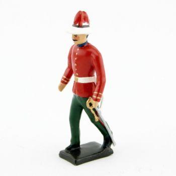 officier des troupes coloniales ecossaises - durbar