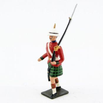 fantassin des 'troupes coloniales écossaises (Durbar)