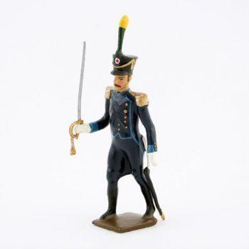 officier de l'infanterie légère espagnole