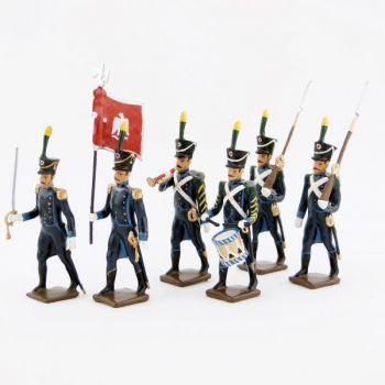 Infanterie légère espagnole, ens. de 6 figurines