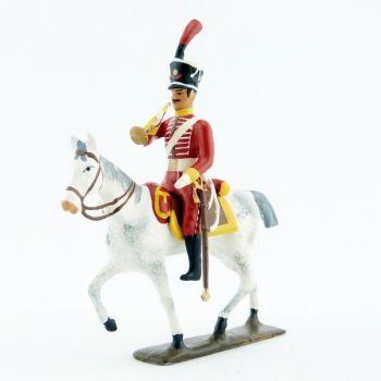 trompette (d'ordonnance) des hussards espagnols (1808)