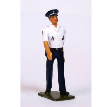 Officier de Police, tenue d'été du service général