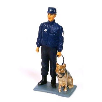 Maître-chien de la Police Nationale