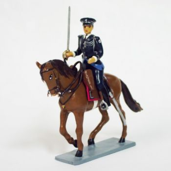 Officier de l'Unité Equestre (Police montée)