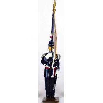 Porte-drapeau du Service de Sécurité du Ministère de l'Intérieur (SSMI)