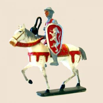 Simon de Montfort à cheval
