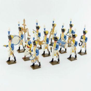 musique du 3e rgt de grenadiers de la garde (ex-hollandais), ensemble de 12 musiciens