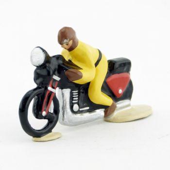 motard en combinaison jaune du Tour de France (monobloc)