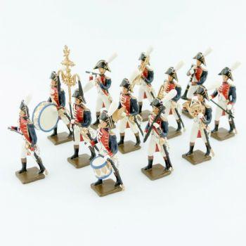Musique de la garde d'honneur de Strasbourg (1805), ensemble de 12 musiciens