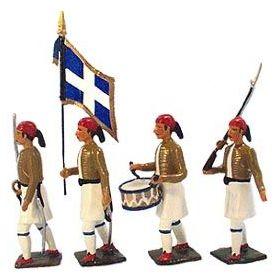 Evzones (infanterie de la garde grecque)