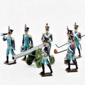 Artilleurs des Canoniers Garde-Côtes (1810-1813)